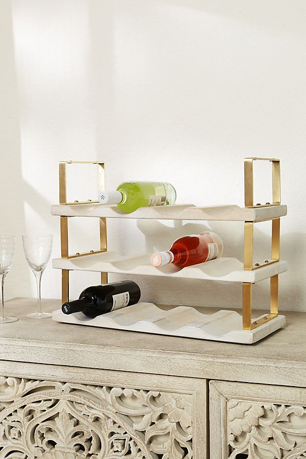 Slide View: 1: Avery Stackable Wine Rack