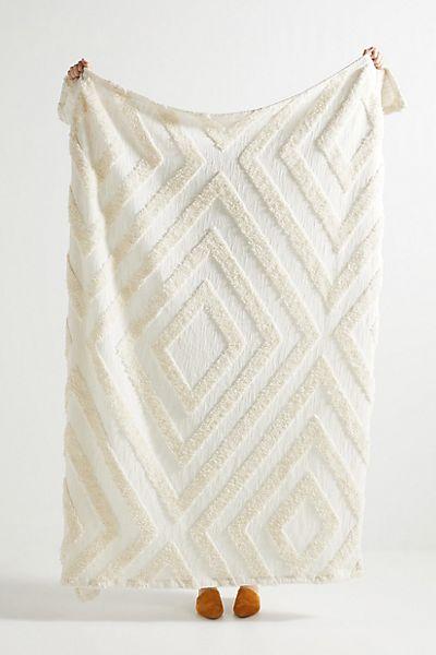 Textured Corell Throw Blanket