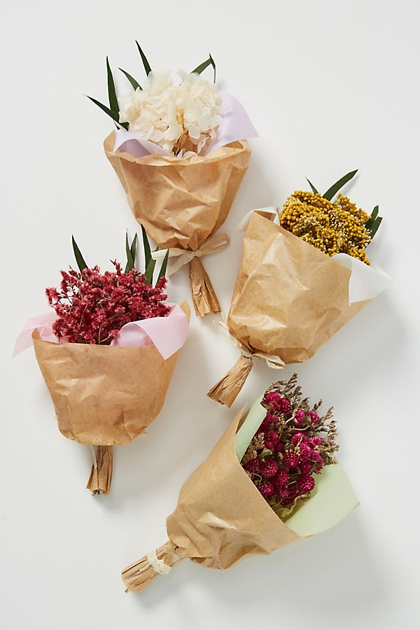 Slide View: 3: Mini Preserved Floral Bouquet