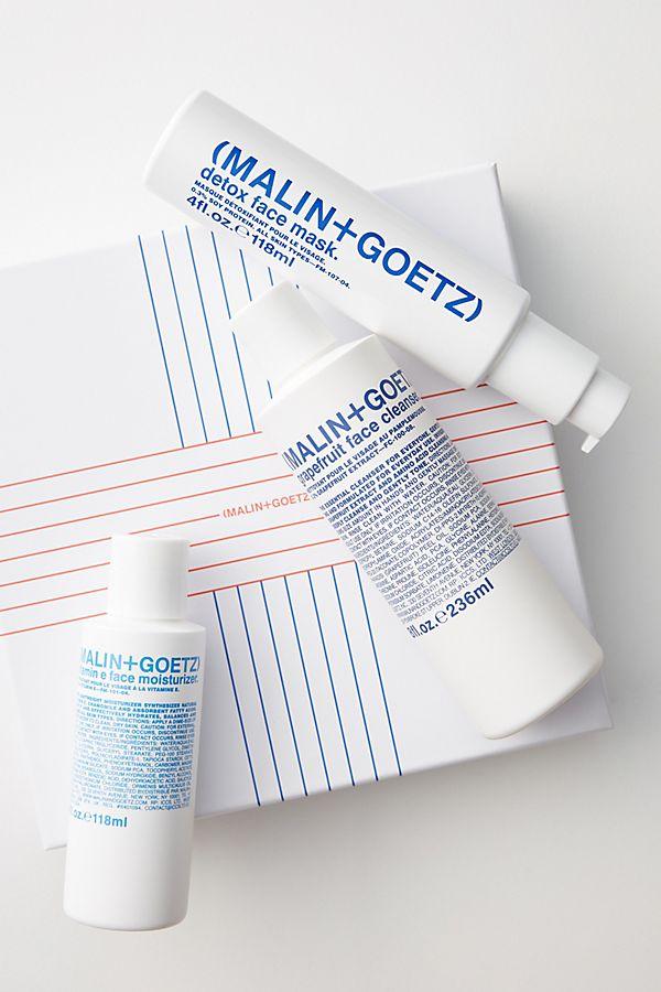 Slide View: 1: Malin + Goetz Saving Face Skincare Gift Set