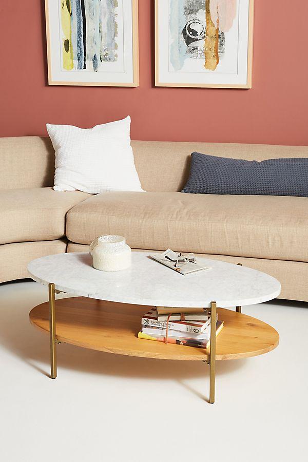 Slide View: 1: Maya Tiered Coffee Table