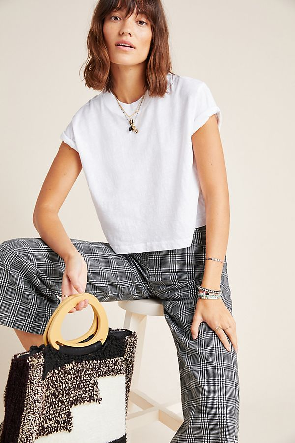 Slide View: 1: Sabel Cropped Tee