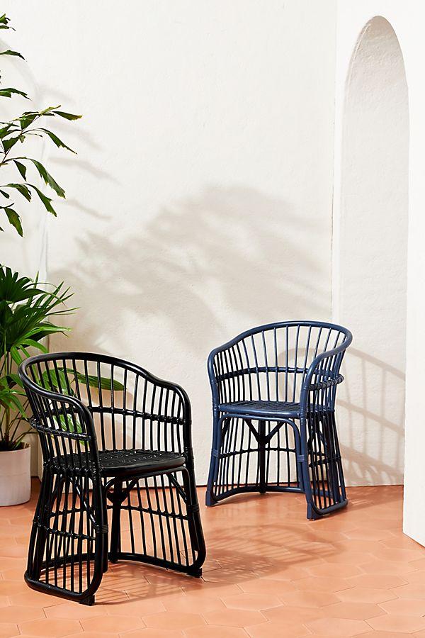 Slide View: 1: Positano Indoor/Outdoor Dining Chair