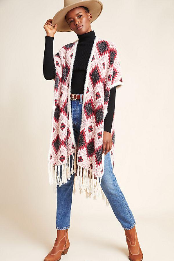 Slide View: 1: Wylie Knit Kimono