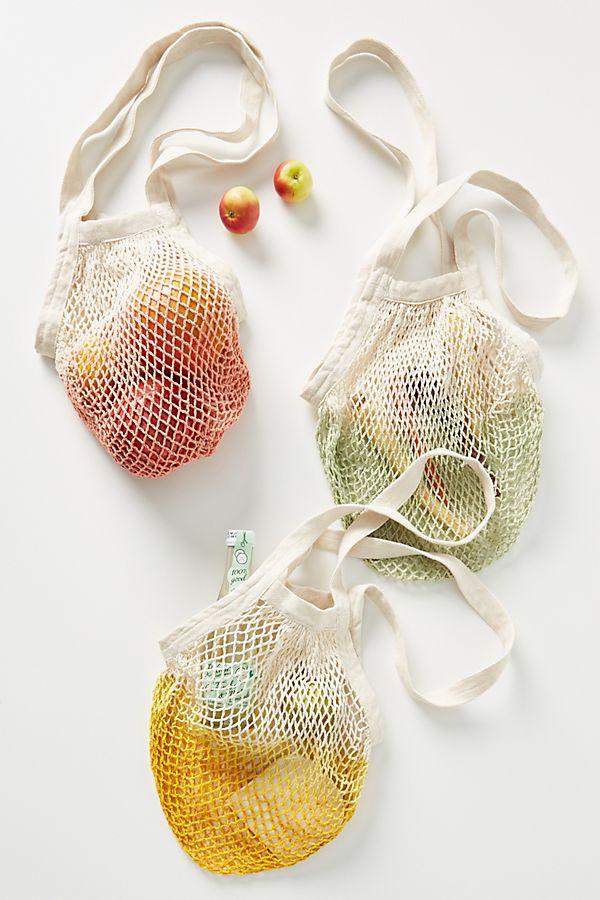 Slide View: 1: Marram Dip-Dyed Market Bag