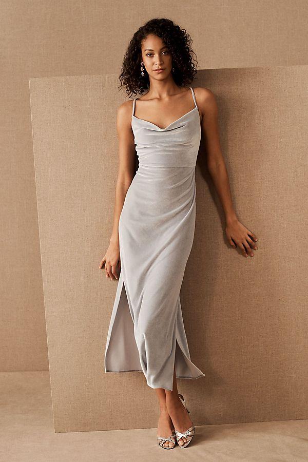 Slide View: 2: BHLDN Nasha Velvet Dress
