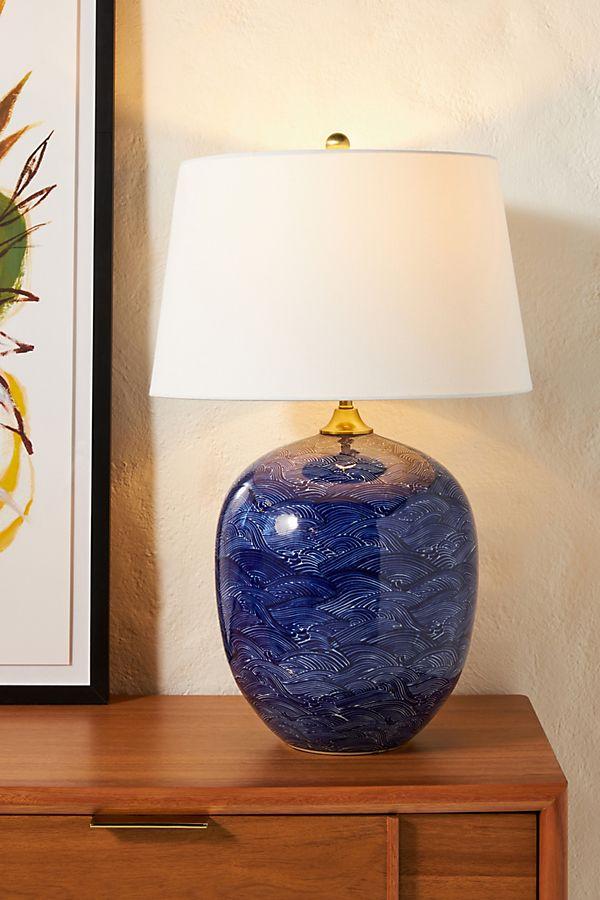 Slide View: 1: Harbor Ceramic Table Lamp