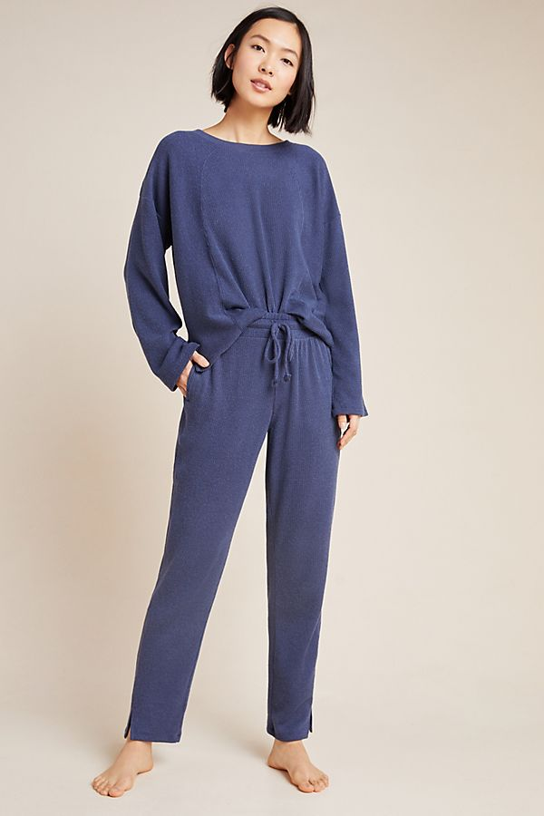 Slide View: 1: Lucie Ribbed Joggers