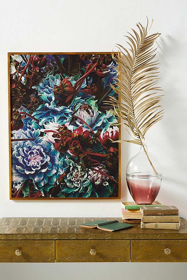 Slide View: 1: Japanese Flowers Wall Art