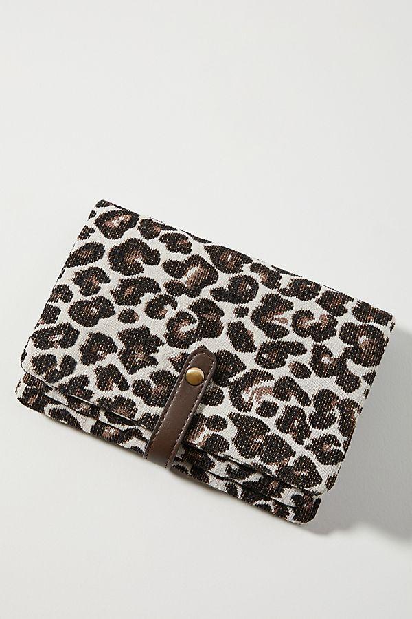 Slide View: 1: Carlin Leopard Crossbody Bag