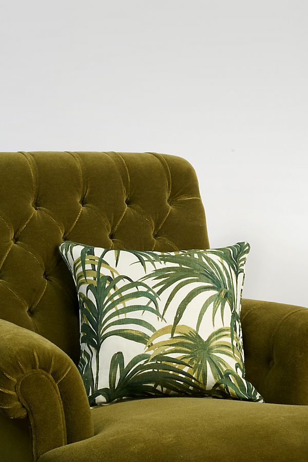 Slide View: 1: House of Hackney Palmeral Cotton-Linen Pillow