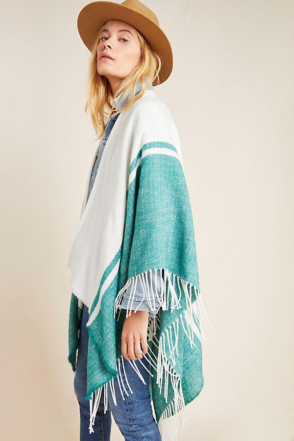 Slide View: 1: Loretta Fringed Kimono
