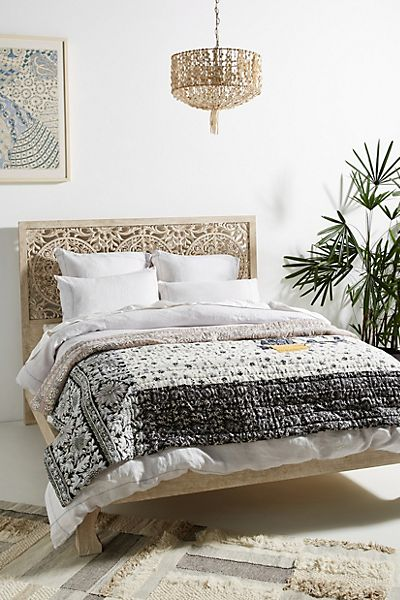 Marina Patchwork Bed Blanket
