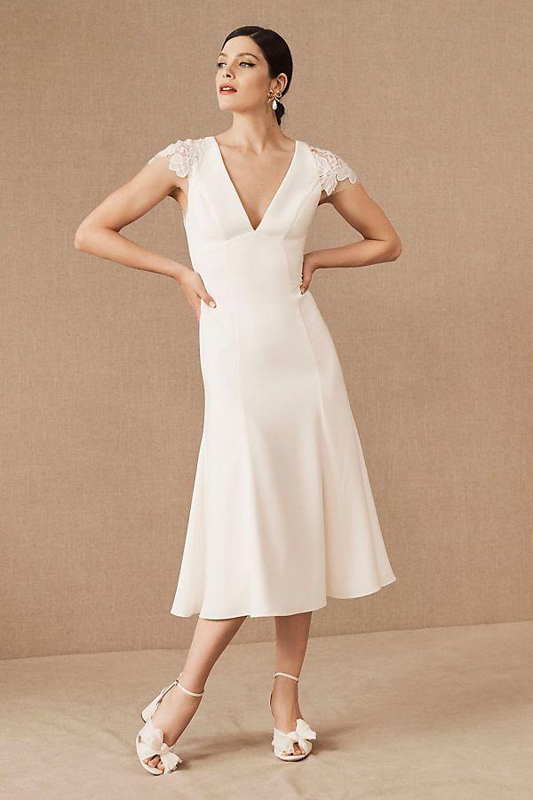 Slide View: 1: Amsale Arcady Dress