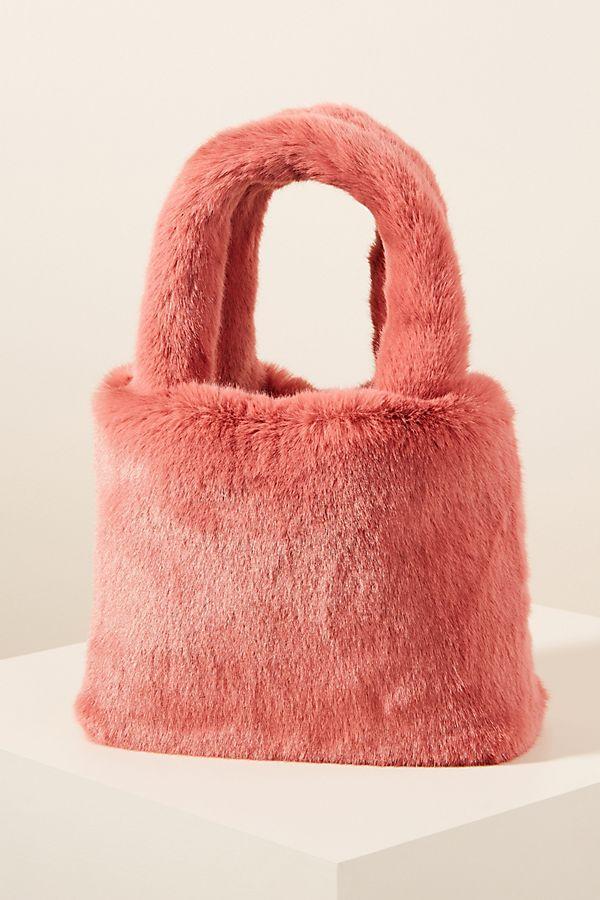 Slide View: 1: Simone Cozy Mini Tote Bag