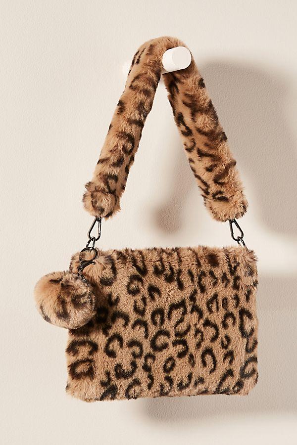 Slide View: 1: Leopard Cozy Tote Bag