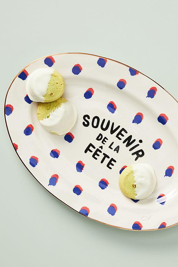 Slide View: 1: Clare V. for Anthropologie Souvenir de la Fete Platter