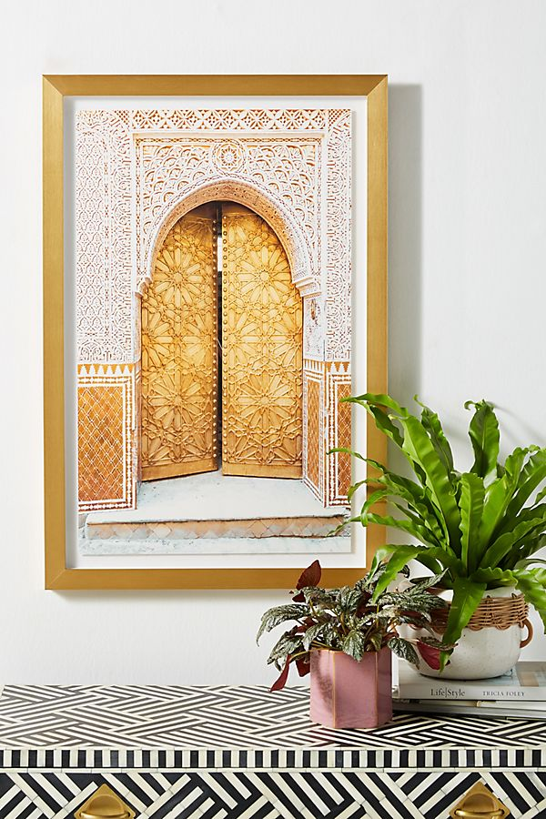 Slide View: 1: Tangier Door Wall Art