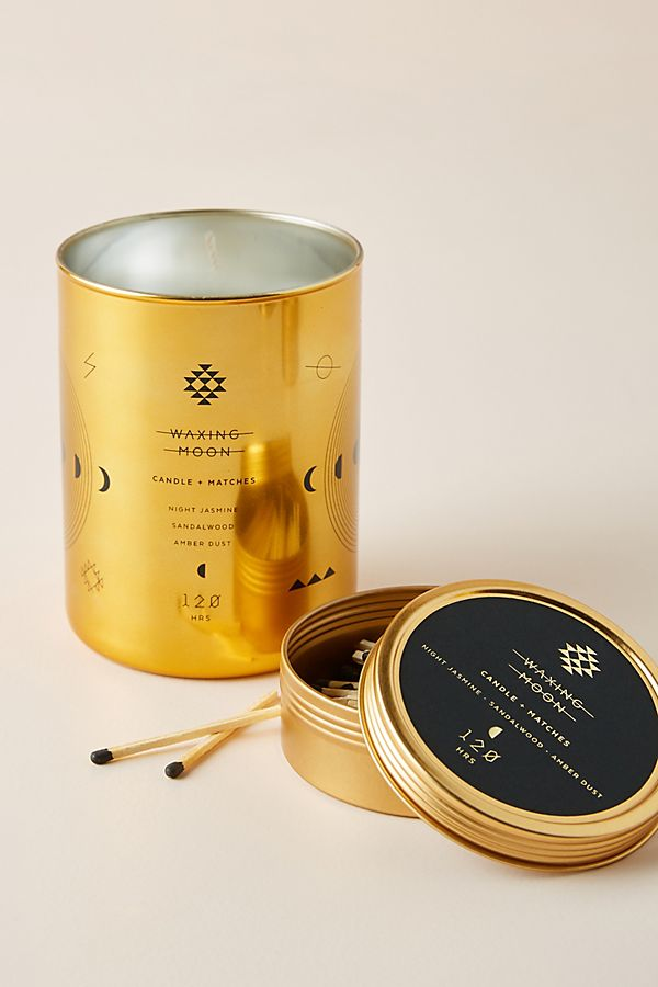 Slide View: 2: Orion Candle and Matches Set