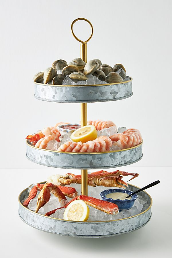 Slide View: 1: Seafood Tower Platter