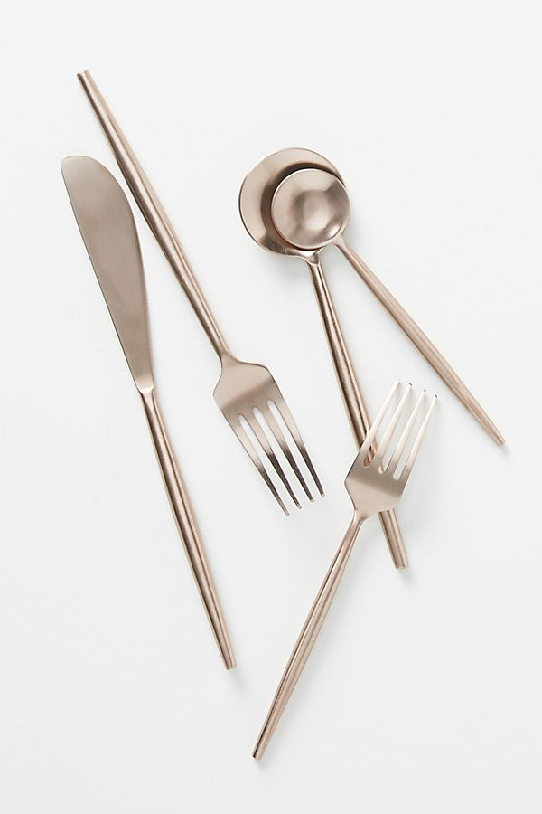 Slide View: 1: Rose Flatware