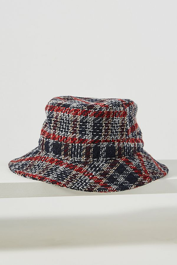 Plaid Reversible Bucket Hat by Hat Attack