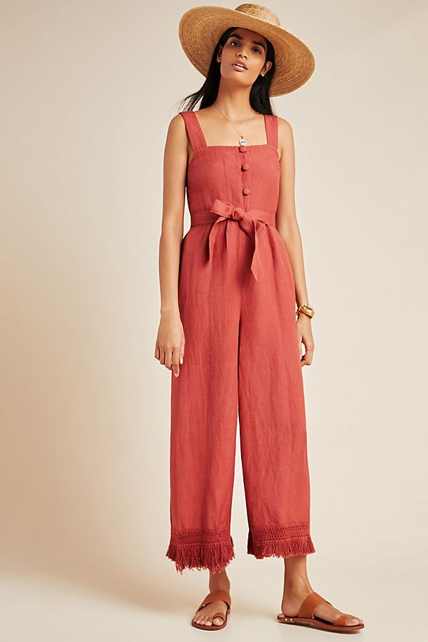 Slide View: 1: Seafolly Scarlet Cover-Up Jumpsuit
