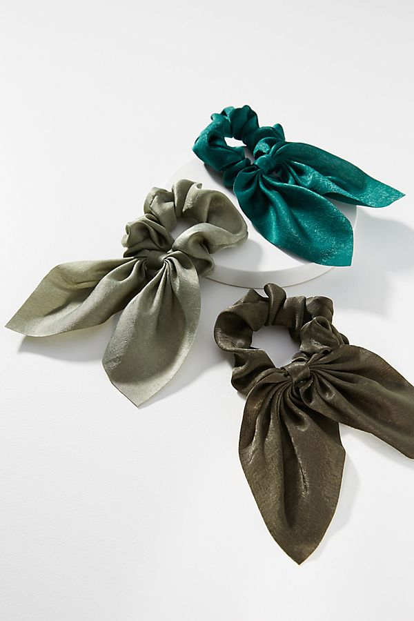 Anna Shimmer Hair Scarf Set by Anthropologie