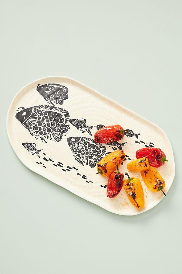 Slide View: 1: Tetra Serving Platter