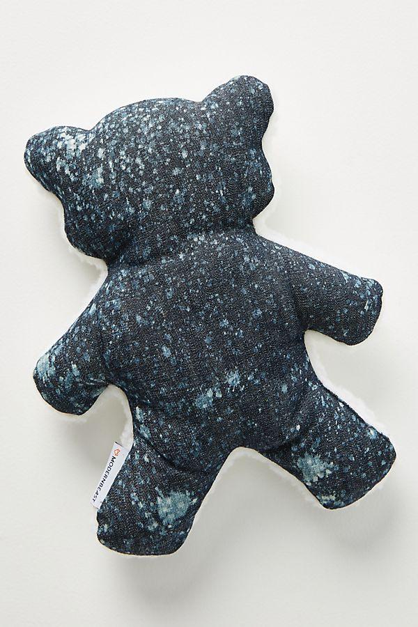 Slide View: 1: Lavender Bedtime Bear Dog Toy