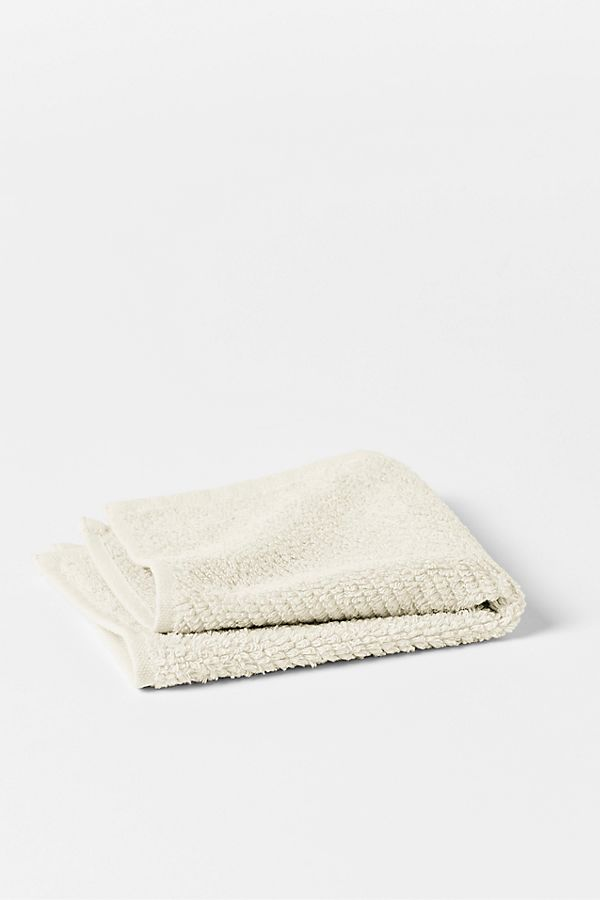 Slide View: 1: Coyuchi Air Weight Organic Wash Cloth Set/6