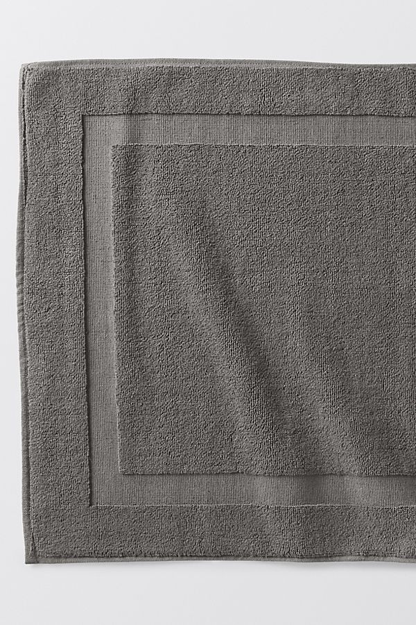 Slide View: 1: Coyuchi Air Weight Organic Bath Mat