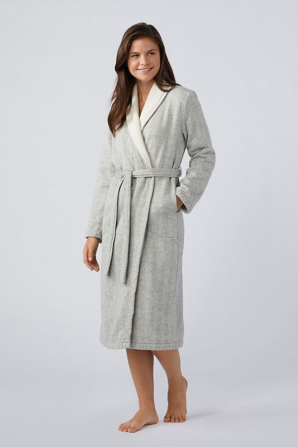 Slide View: 1: Coyuchi Women's Catalina Organic Robe