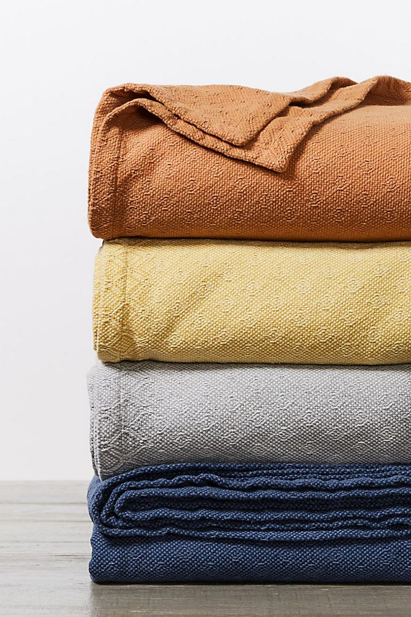 Slide View: 3: Coyuchi Loreto Organic Blanket