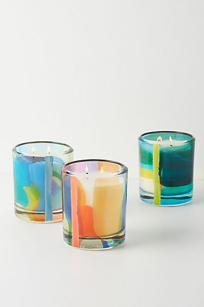 Claire Desjardins Glass Candle