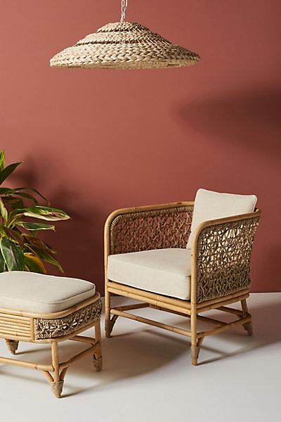 Marigny Rattan Chair