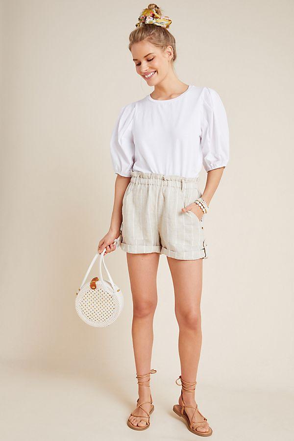 Slide View: 1: Sanctuary Ava Linen Shorts