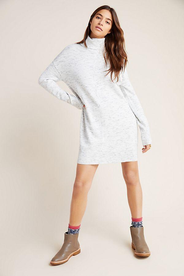 Slide View: 1: Maggie Turtleneck Sweater Dress