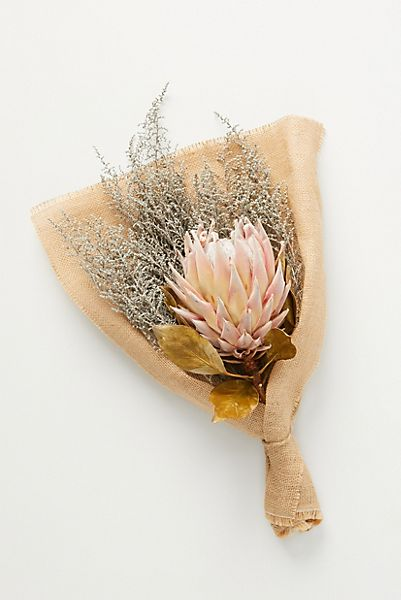 Protea & Stoebe Mixed Floral Bouquet
