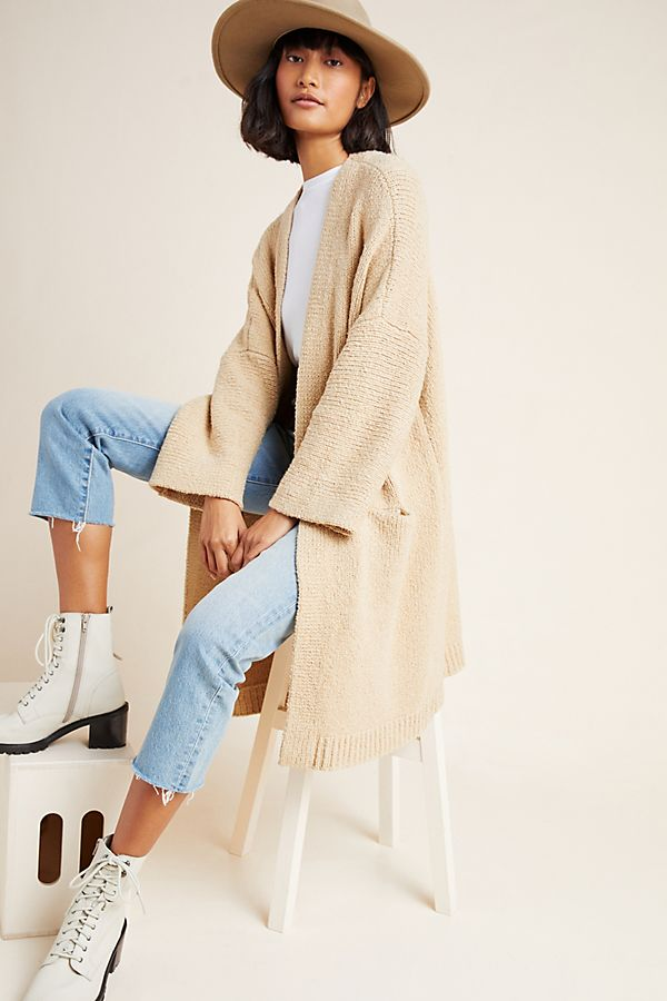 Slide View: 1: Riley Longline Cardigan