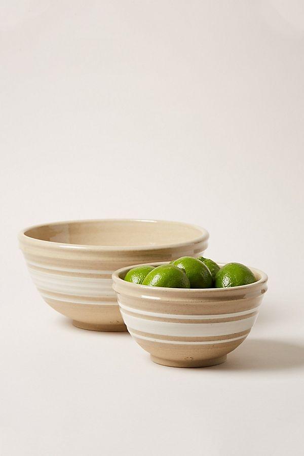 Slide View: 1: Farmhouse Pottery Yellowware Bowl