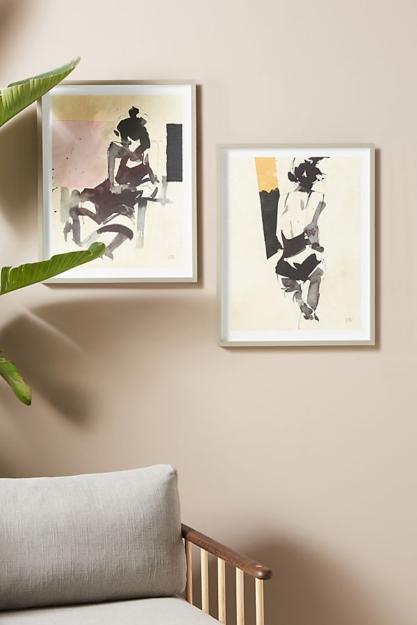 Slide View: 3: Nudes I Wall Art