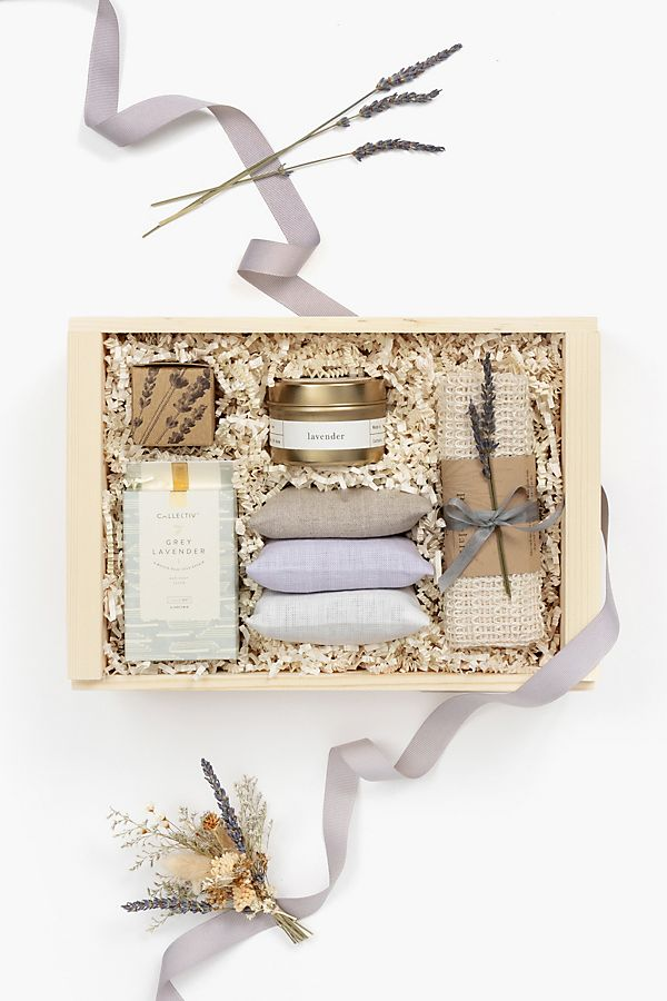 Slide View: 1: Loved and Found Lavender Curated Gift Box