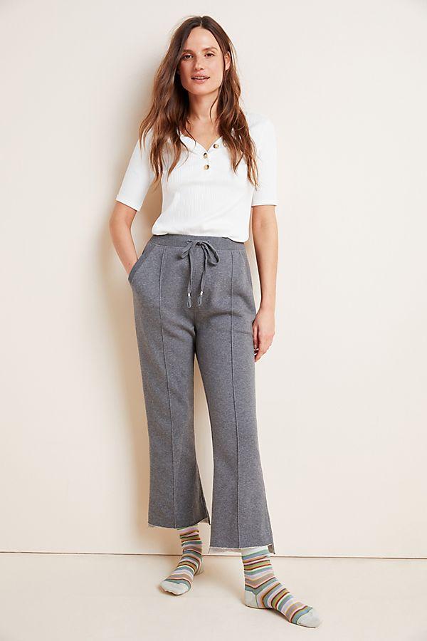 Slide View: 1: Linda Seamed Fleece Lounge Pants