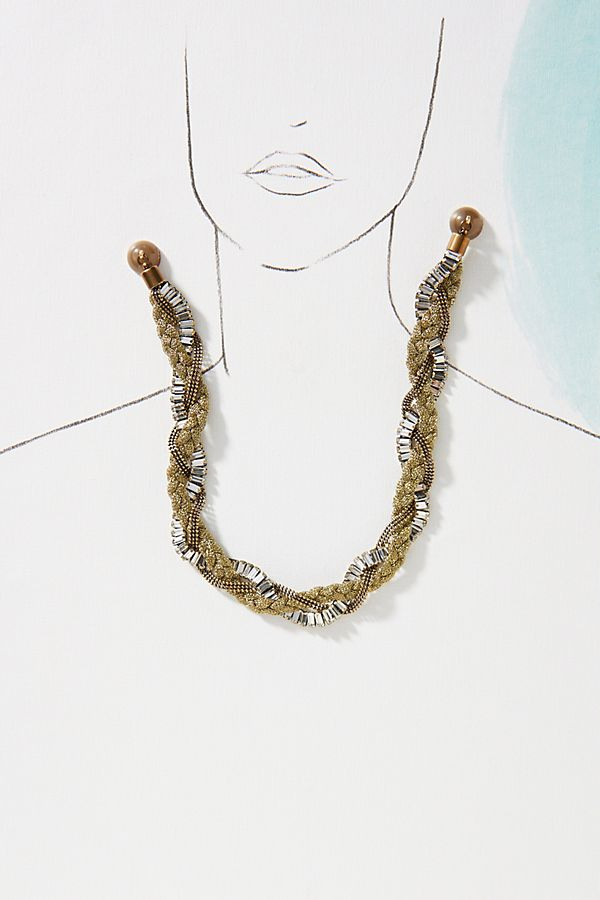 Slide View: 3: Tataborello Braided Necklace