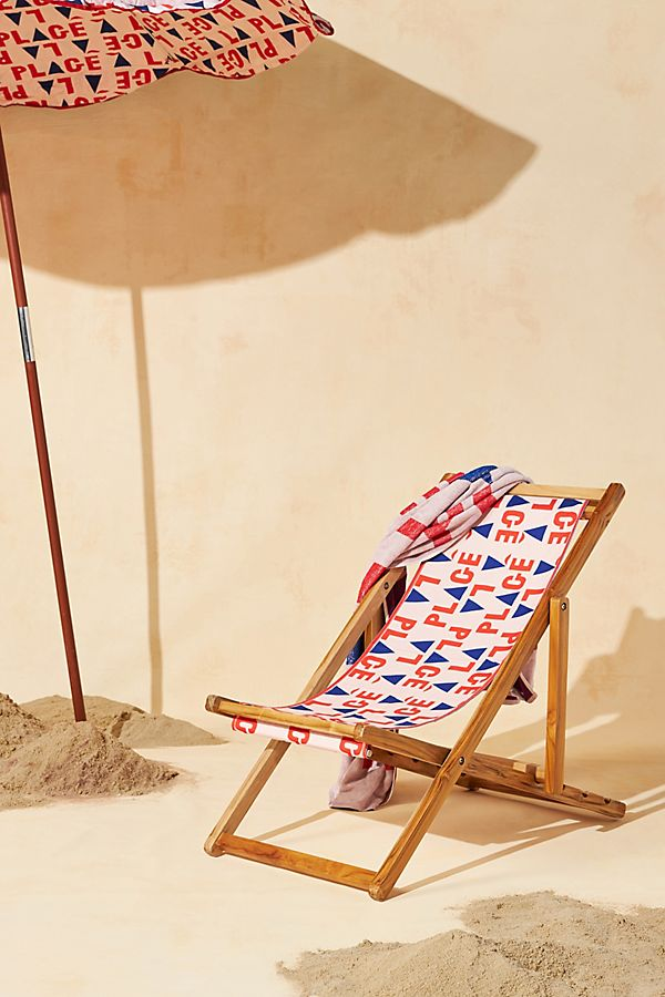 Slide View: 1: Clare V. for Anthropologie Beach Sling Chair