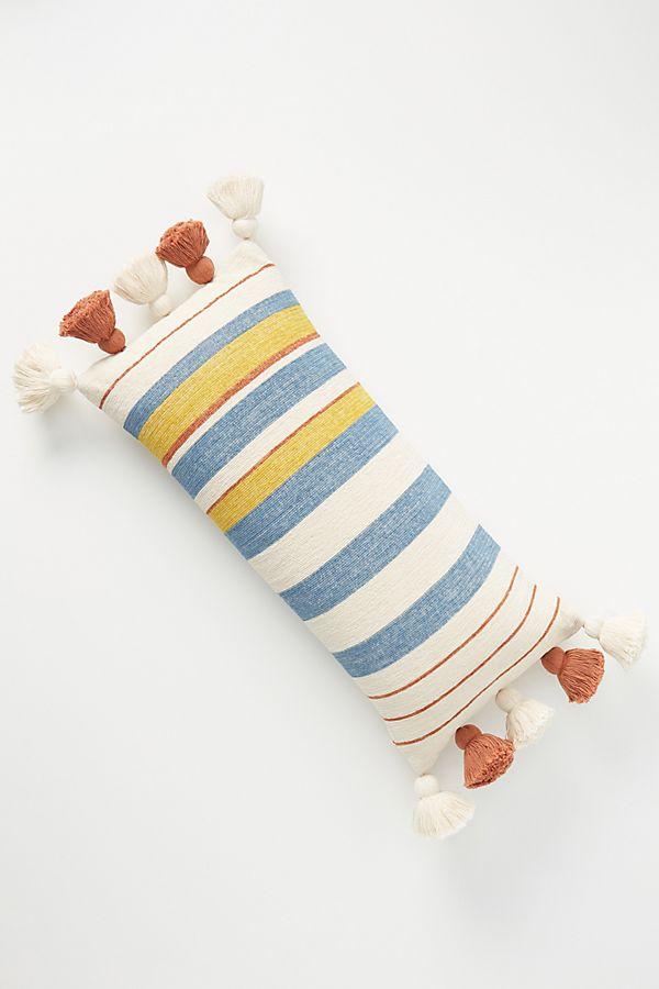 Slide View: 1: Tasseled Manny Pillow