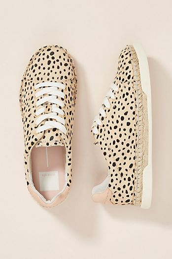 Dolce Vita Madox Leopard Espadrille Sneakers