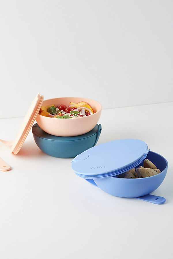 Slide View: 1: W&P Plastic Porter Storage Bowl