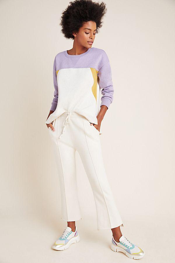 Slide View: 1: Corine Colorblocked Sweatshirt